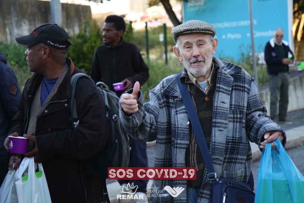 Projeto SOS Partilha Constante e Remar